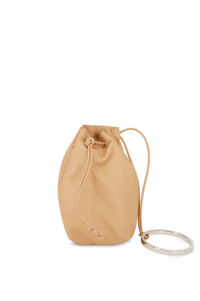 Jil Sander - Sand Leather Bracelet Handle Mini Bucket Bag