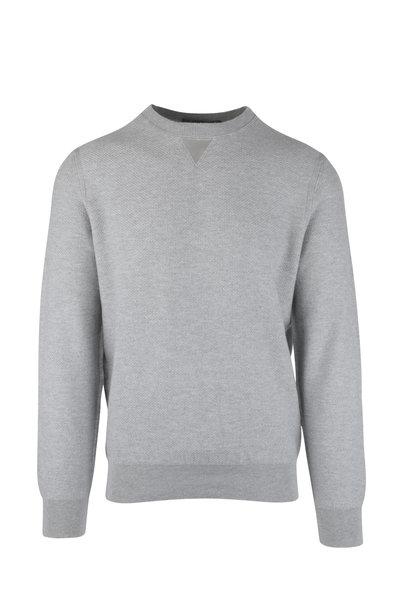 Ermenegildo Zegna - Gray Cashmere Blend Sweater