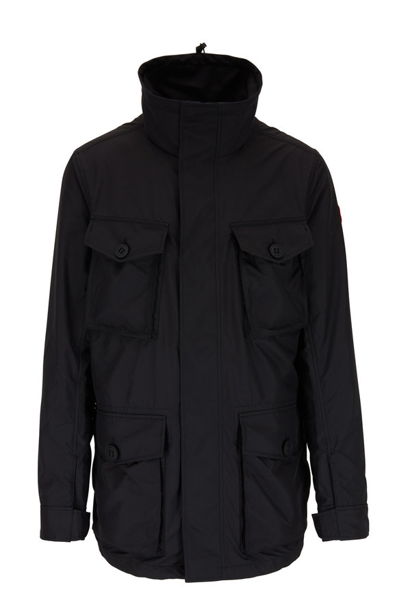 Canada Goose Stanhope Black Dura-Force Light™ Jacket