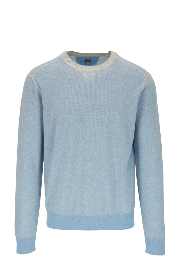 Raffi  Lake Vainse Cotton Crewneck Pullover