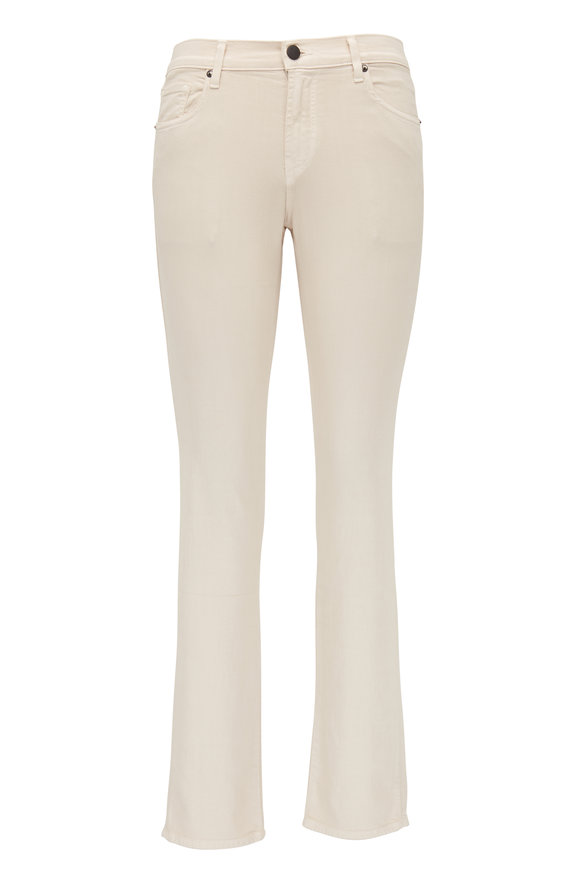 J Brand Tyler Off White Seriously Soft Slim Fit Jean