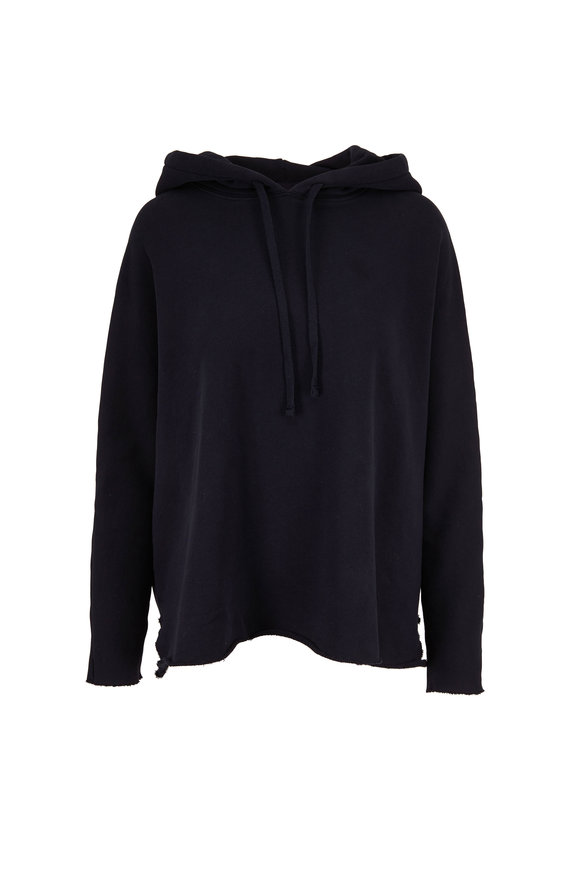 Frank & Eileen Navy Blue Relaxed Fit Hoodie