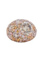 Kwiat - Cobblestone Pink Gold Diamond Ring