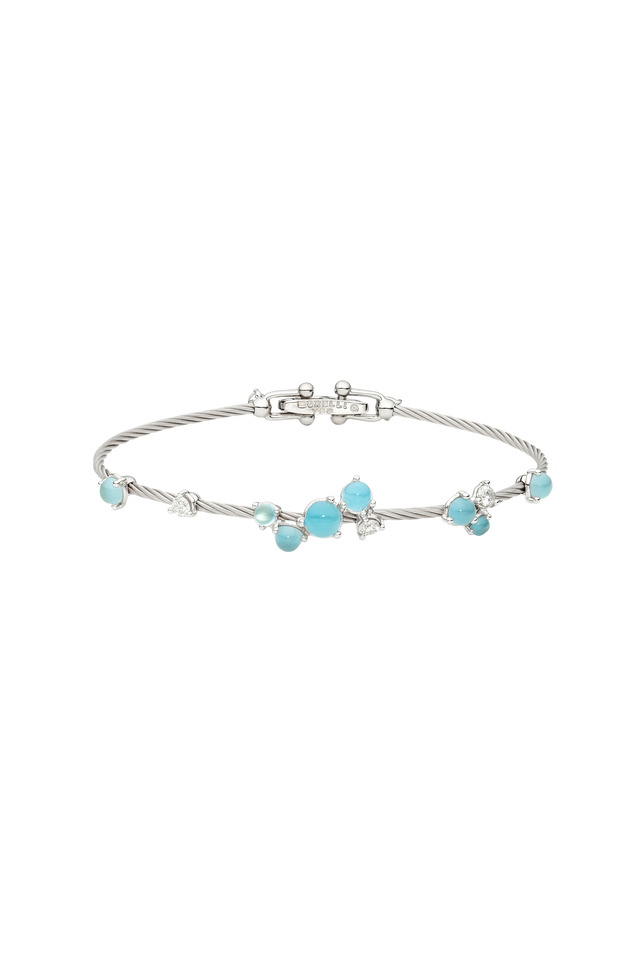 Wire Cluster Bracelet