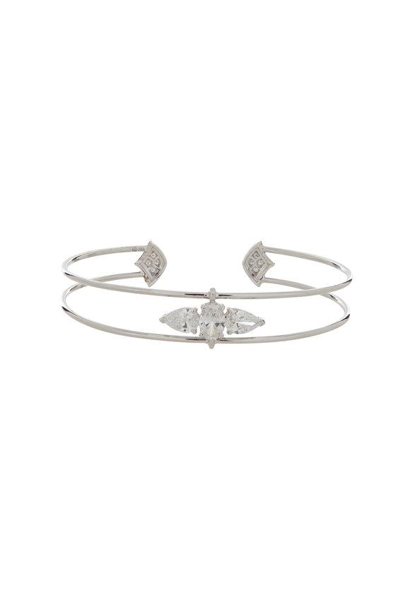 Etho Maria 18K White Gold Diamond Bracelet