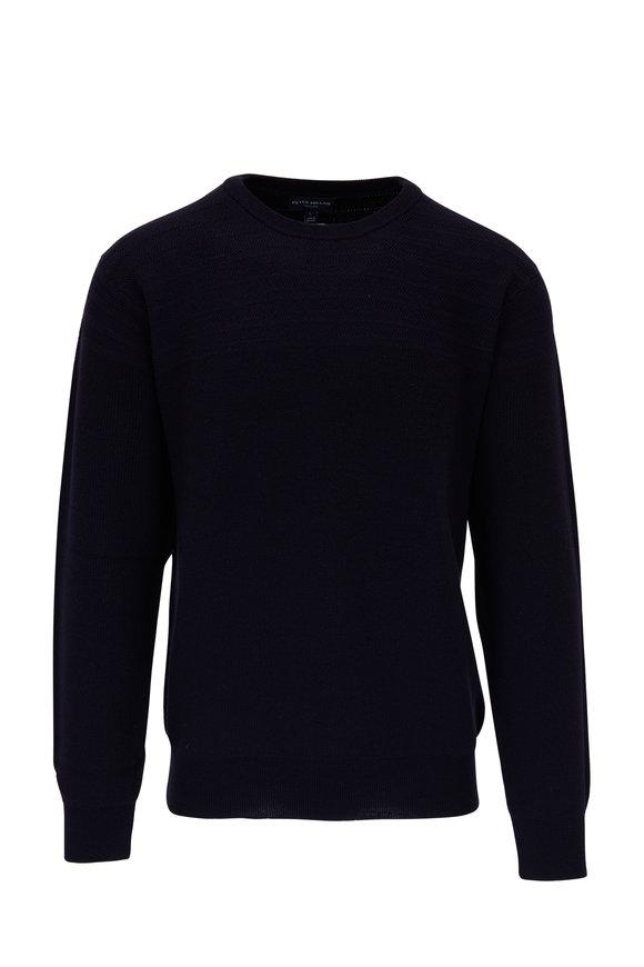 Peter Millar Marina Barch Merino Wool Crewneck Sweater