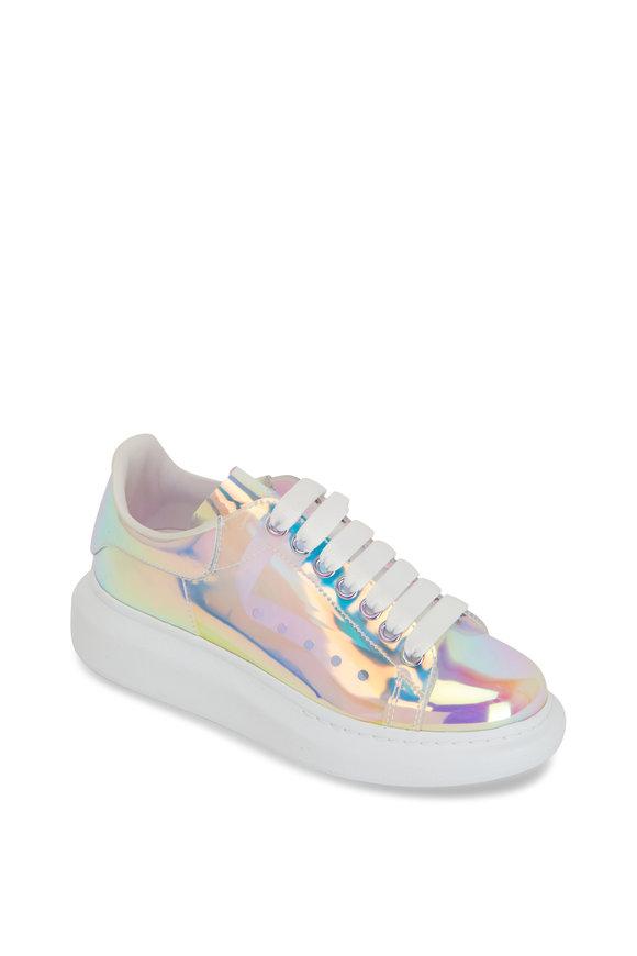 Alexander McQueen Fantasy White Transparent Iridescent PVC Sneaker