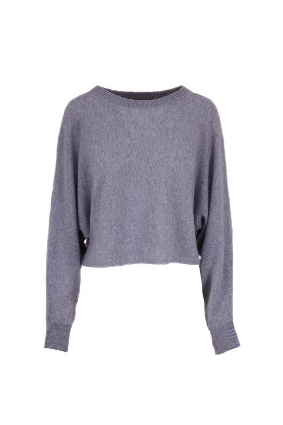 Raffi  Mist Cashmere Dolman Crop Sweater