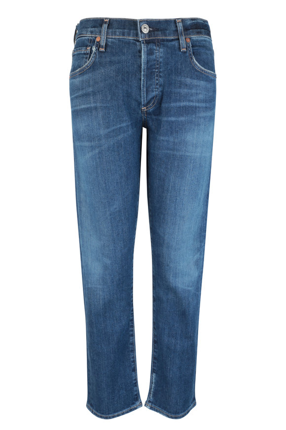 Citizens of Humanity Emerson Medium Blue Slim Boyfriend Jean
