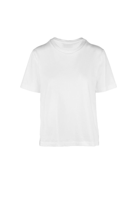 Citizens of Humanity Lenu White High-Low T-Shirt