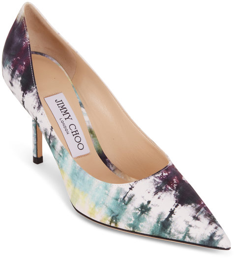 Jimmy Choo Love Oasis Tie Dye Fabric Pump, 85mm