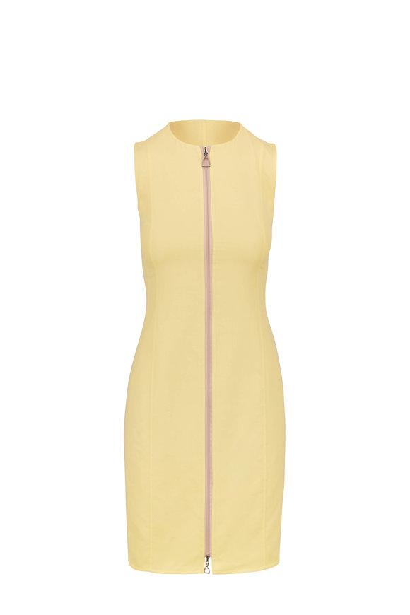 Akris Luce & Canvas Reversible Sleeveless Dress