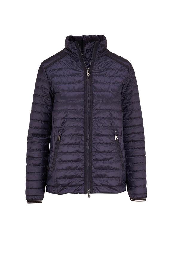 Bogner Josa Navy Quilted Puffer Jacket