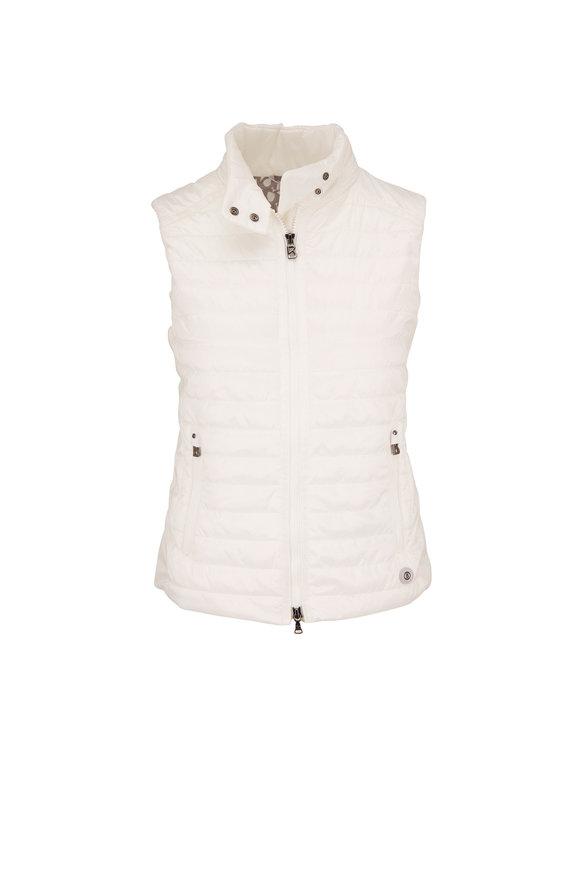 Bogner Mabeli White Puffer Vest