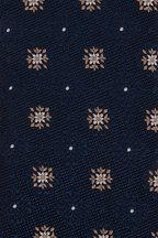Ermenegildo Zegna - Dark Teal Floral Medallion Silk Necktie