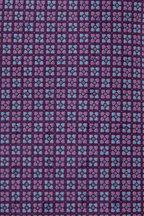 Ermenegildo Zegna - Purple Micro Tile Print Silk Necktie