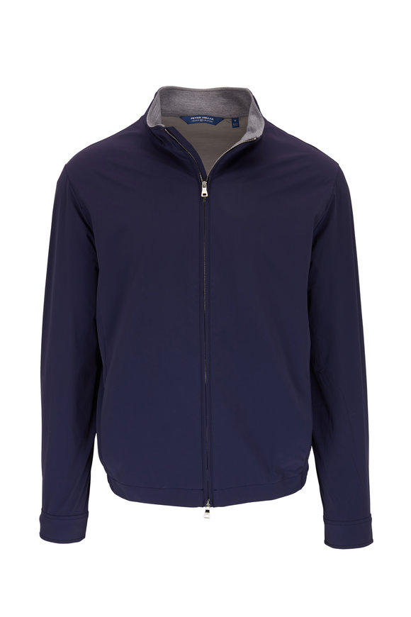 Peter Millar Crown Crafted Navy Stealth Light Jacket