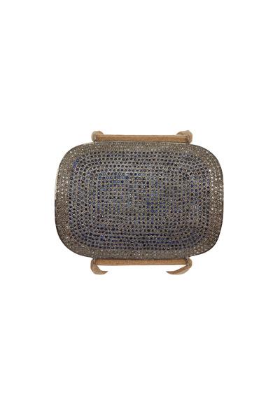 Tulah Jem - Pavé-Set Sapphire & Diamond Cuff Bracelet