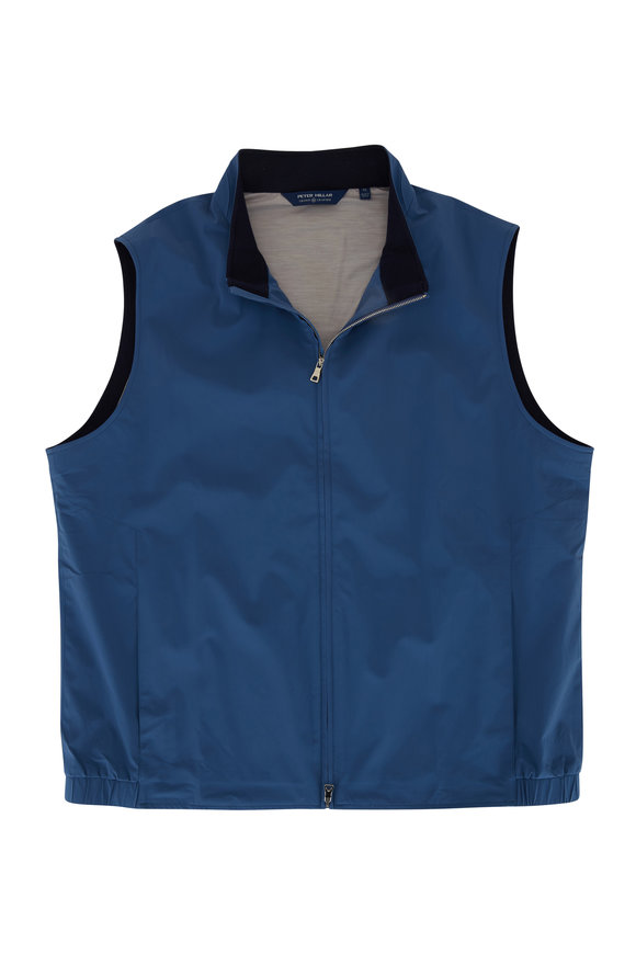 Peter Millar Crown Crafted Blue Stealth Vest