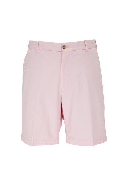 Peter Millar - Crown Palm Pink Twill Shorts