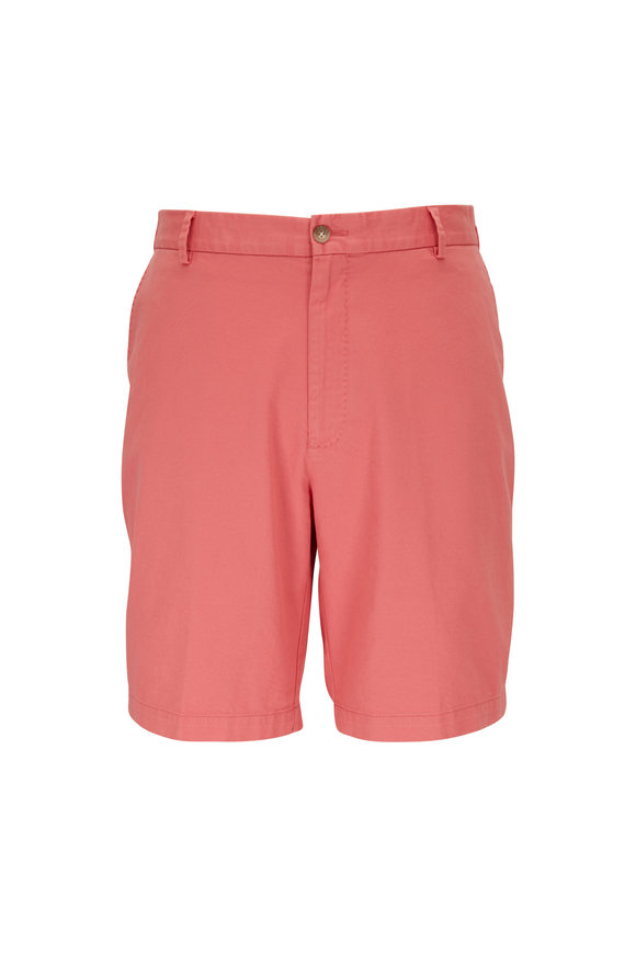 Peter Millar Crown Red Ginger Twill Shorts