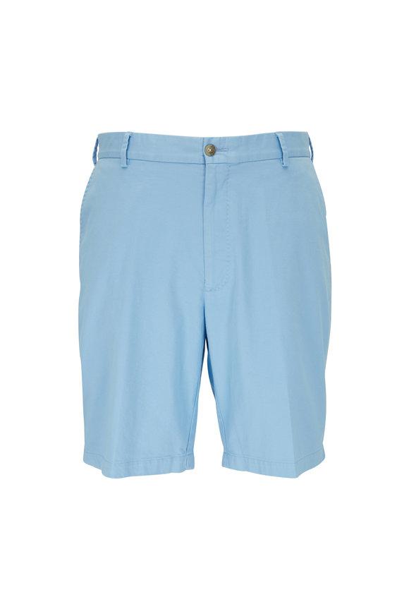 Peter Millar Crown Cottage Blue Twill Shorts