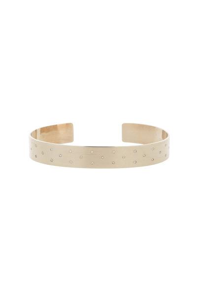 Genevieve Lau - 14K White Gold Panama Diamond Cuff
