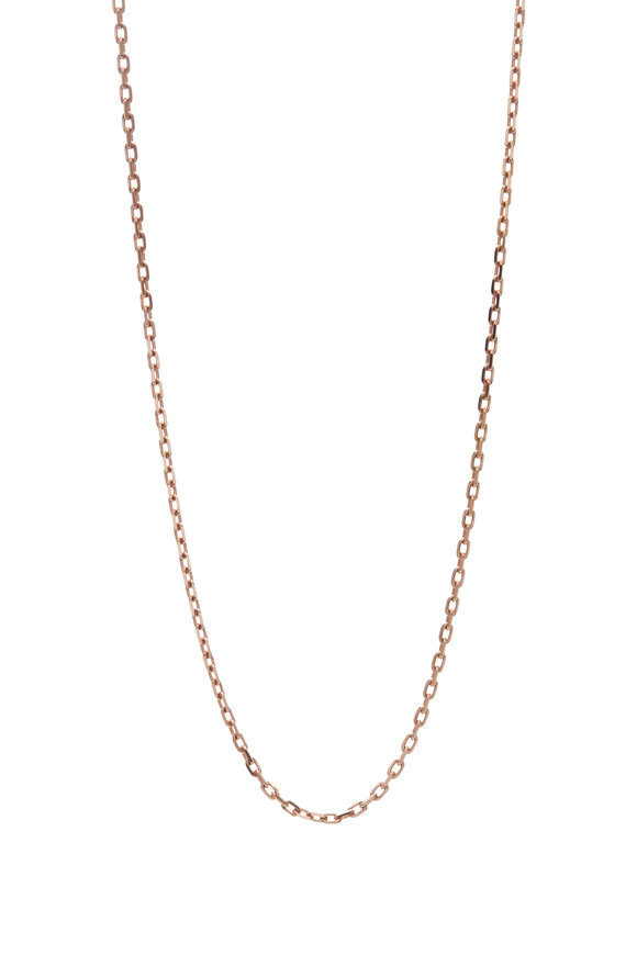 Genevieve Lau Rose Gold Chain Link Necklace
