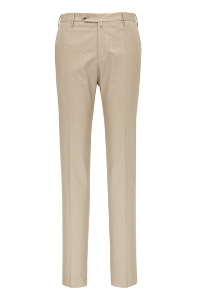 PT Torino - Stone Natural Stretch Cotton Pant