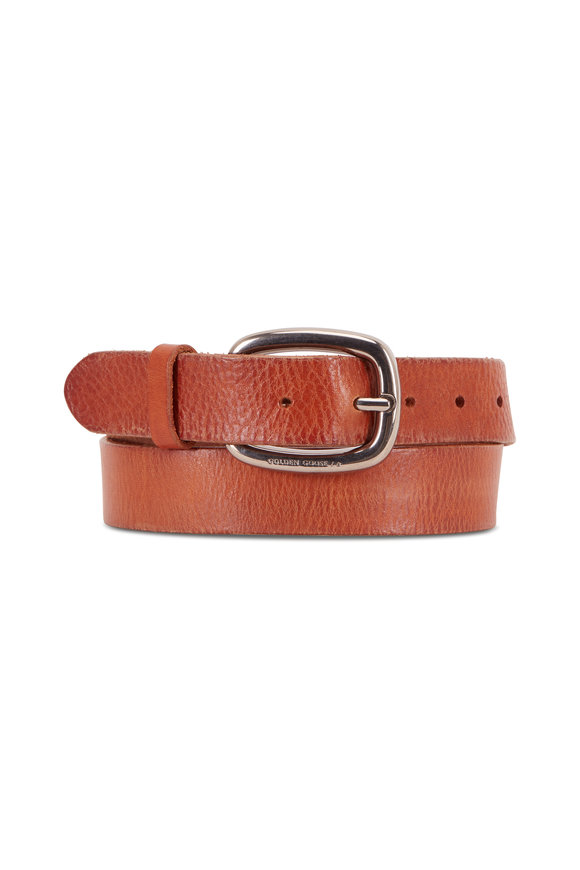 Golden Goose Houston Cuoio Leather Belt