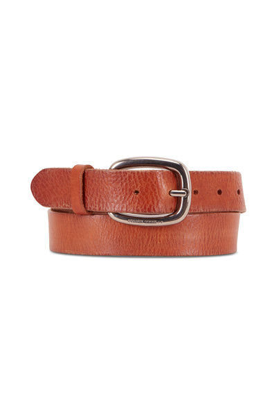 Golden Goose - Houston Cuoio Leather Belt