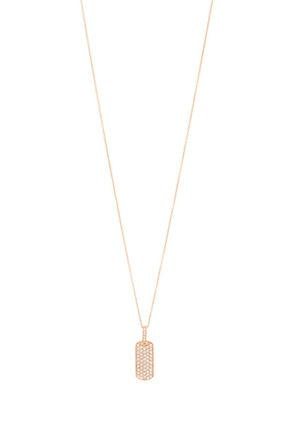 My Story Jewel 14K Rose Gold Diamond Pendant Necklace