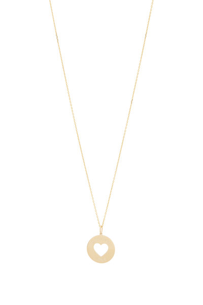 Genevieve Lau - 14K Yellow Gold Choose Love Necklace