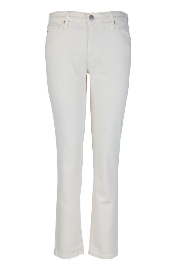 AG - Adriano Goldschmied The Prima Ivory Cigarette Ankle Jean