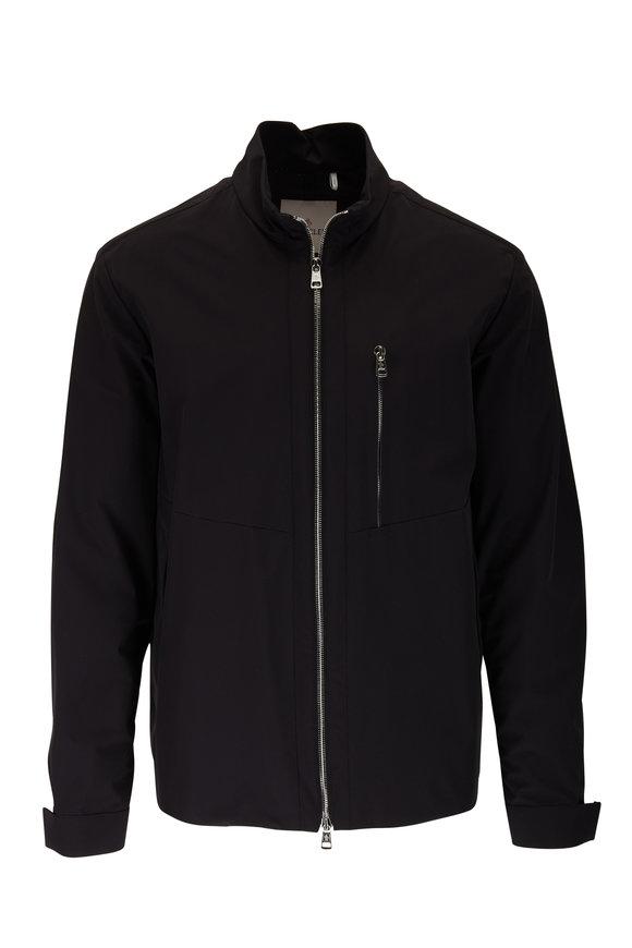 Moncler Vincin Giubbotto Black Zip Jacket