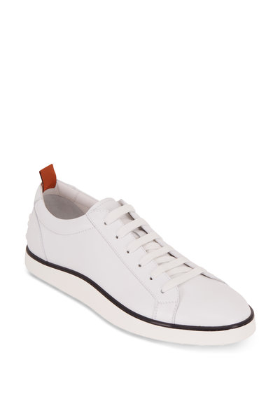 Tod's - Casseta Gommini White Leather Sneaker