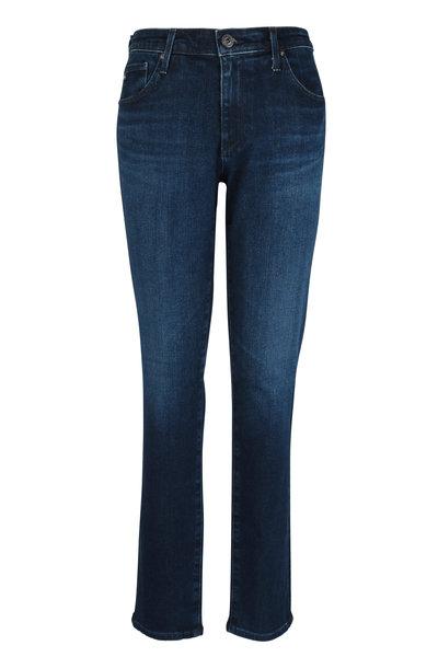 AG - The Prima Dark Wash Cigarette Leg Jean