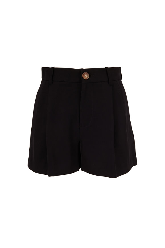 Vince Black High-Rise Shorts