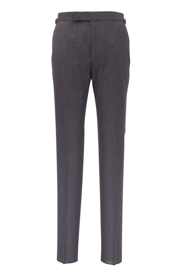 Tom Ford Light Gray Wool Pant
