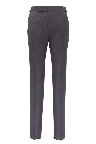 Tom Ford - Light Gray Wool Pant