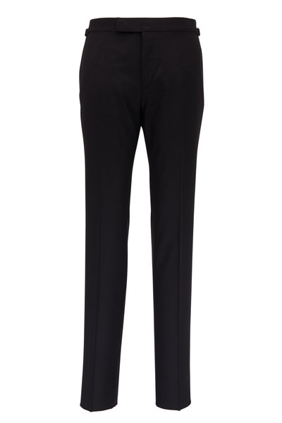 Tom Ford - Black Wool Pant