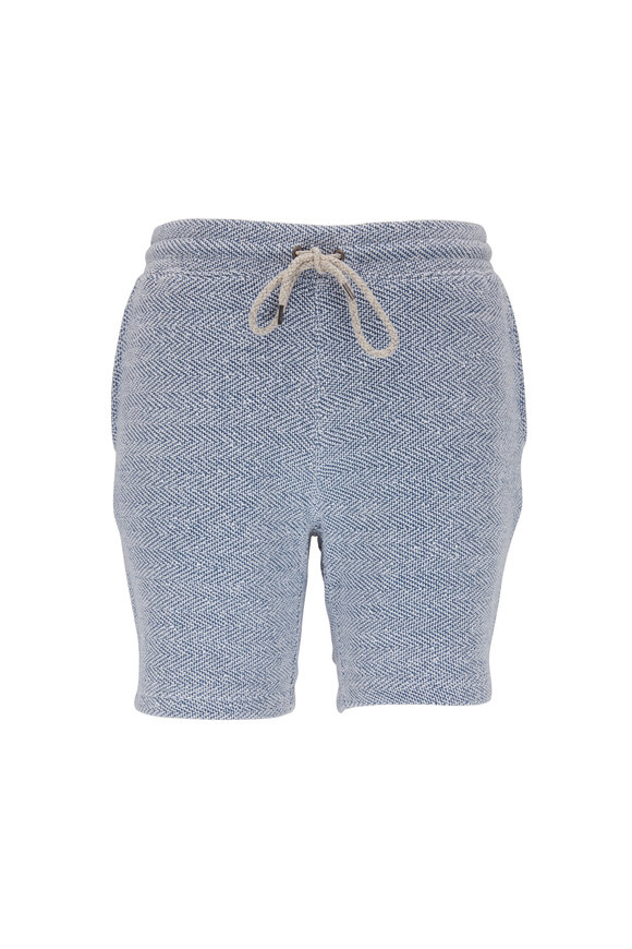 Faherty Brand Lucaya Whitewater Sweatshorts
