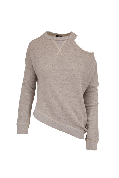 R13 - Distorted Heather Gray Sweatshirt