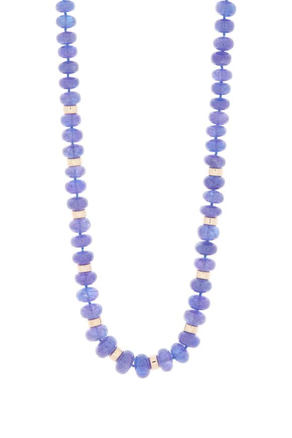 Katherine Jetter 18K Gold Tanzanian Beaded Necklace