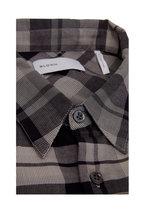 BLDWN - Modern Classis Harrison Washed Black Plaid Shirt