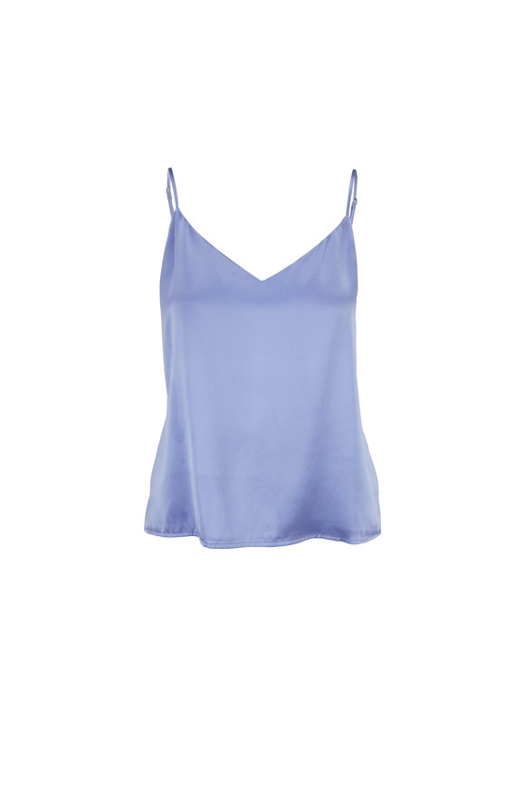 L'Agence Jane Periwinkle Silk Cami