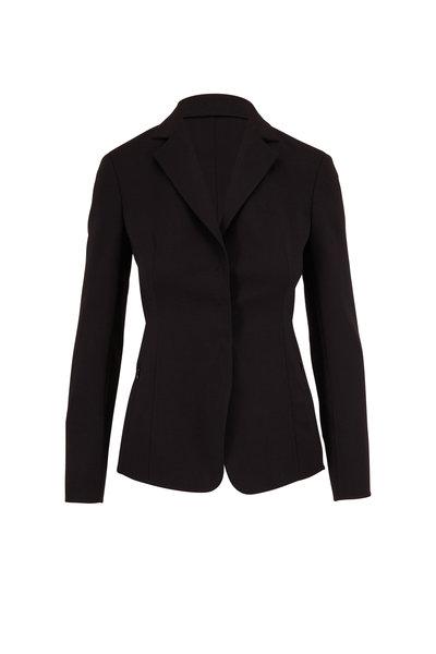 Akris - Savino Black Double-Faced Wool Jacket