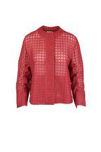 Akris Punto - Red Grid Mesh Jacket