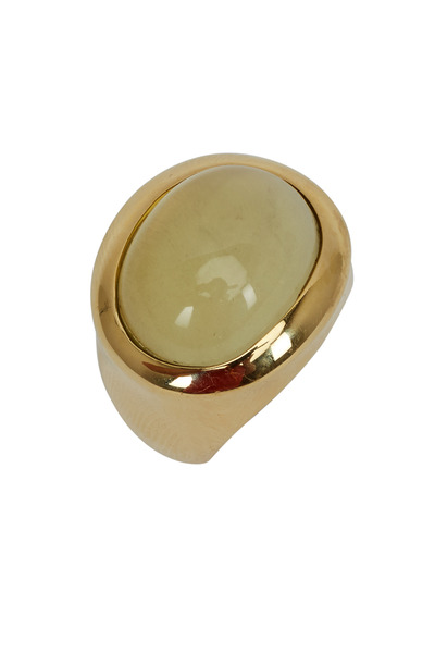 Kathleen Dughi - 18K Yellow Gold Lemon Quartz Isabella Ring