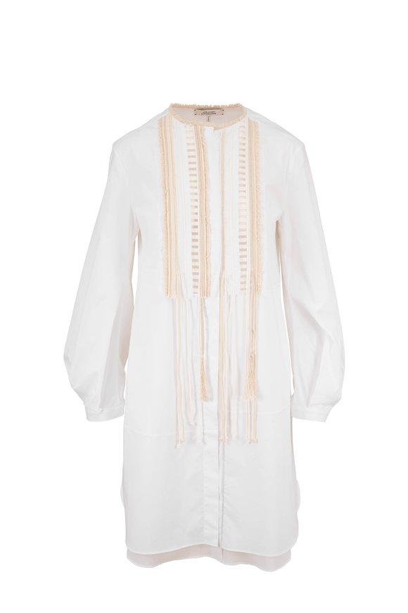 Dorothee Schumacher White Poplin Power Dress